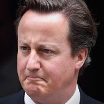 David Cameron leadesrhip mask style