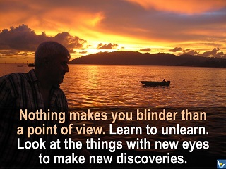 Learn to unlearn to make discoveries Vadim KOtelnikov quotes